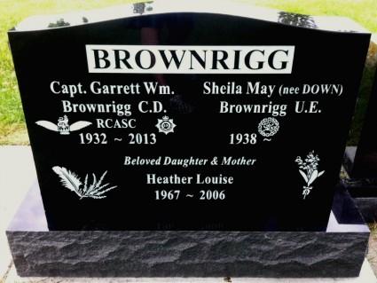 Upright Family - Black Granite | Bakerview Crematorium & Celebration Centre